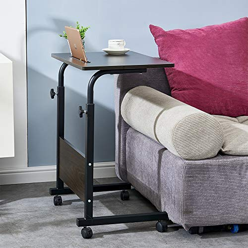 Ansley&HosHo Medical Overbed Table with Wheels Hospital Over Bed Desk Rolling Movable Desk for Bed...