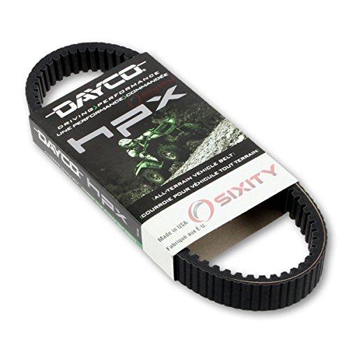 Dayco HPX Drive Belt for 2005-2006 Polaris Ranger XP 700 - High Performance Extreme CVT Transmission Automatic