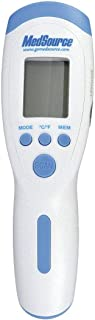 Infrared Thermometer, White/Blue, Plastic