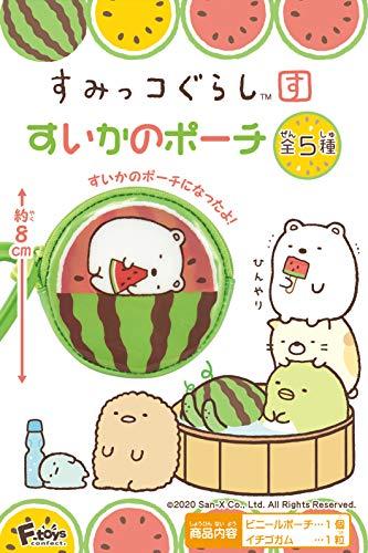 エフトイズコンフェクト すみっコぐらしすいかのポーチ 10個入 食玩・ガム(すみっコぐらし)