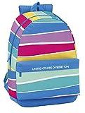 safta Sf-611735-758 Mochila Infantil, 46 cm, Multicolor, Stripes