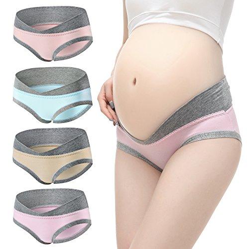 La Gracery Dames Moederschapsondergoed zwangerschap vrouwen Cotton Knickers Under The Bump Briefs Broeken