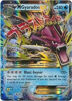 Pokemon - Mega-Gyarados-EX  27/122  - XY Breakpoint - Holo