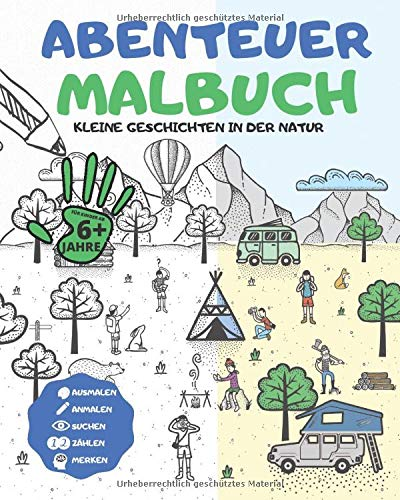 Abenteuer MALBUCH -