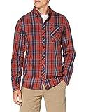 BLEND Freizeithemd Slim Fit Camiseta, Rojo (191557), XXL para Hombre
