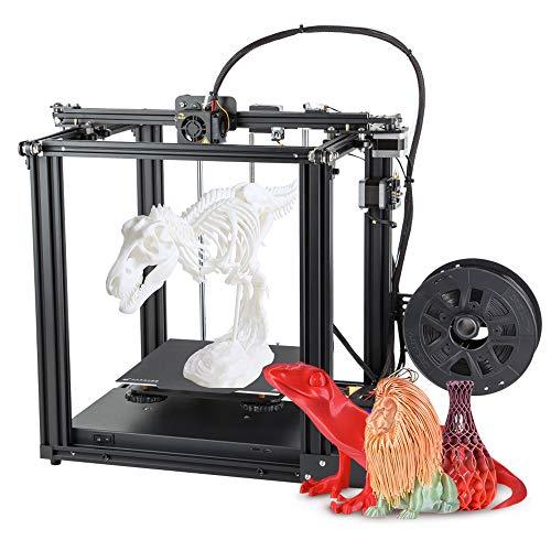 Victool 3D Drucker, Official Ender 5 3D Printer DIY Kit Aluminium Profildruck, 220 * 220 * 300mm