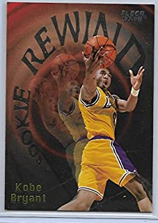 kobe bryant rookie rewind card