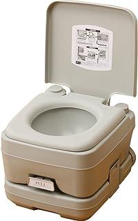 本格派ポータブル水洗トイレ 簡易トイレ (10L) YZPT-10(G)
