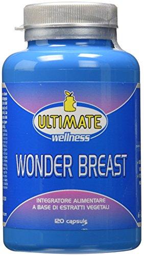 Ultimate Italia - Wonder Breast - Favorisce La Compattezza, La Tonicità E Il Volume Del Seno In Modo Naturale E Progressivo - Un Seno Più Voluminoso E Alto Senza...