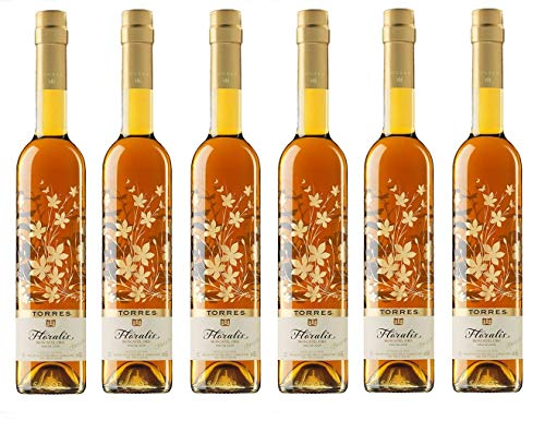 Moscatel Floralis, Vino de Postre - 6 botellas de 75 cl, Total: 4500 ml