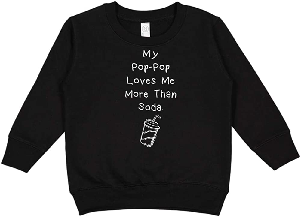 My Pop-Pop Loves Me More Than Soda Toddler//Kids Sweatshirt
