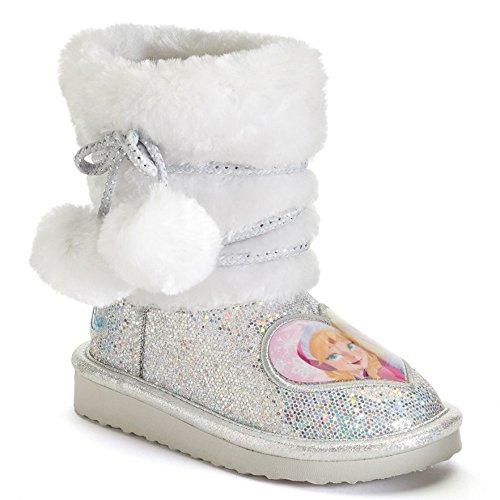 Disney Frozen Anna and Elsa Toddler Girls Glitter Boots