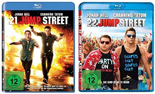 21 Jump Street & 22 Jump Street im Set - Deutsche Originalware [2 Blu-rays]
