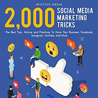 2,000 Social Media Marketing Tricks audiobook cover art