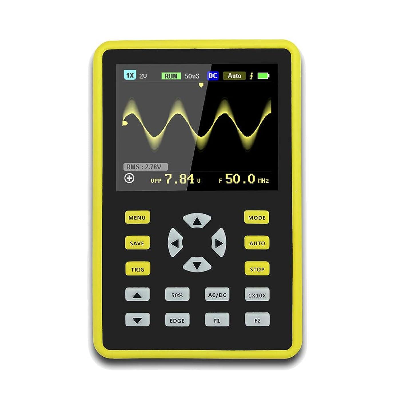 フラッシュのように素早く受け入れた断線Xlp ?手持ち型デジタル小型オシロスコープ2.4インチ500 MS/s IPS LCD表示スクリーンの携帯用