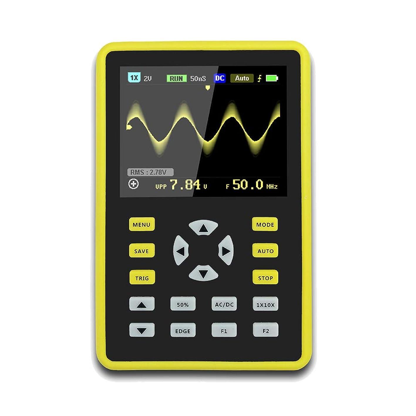 出しますレイアブセイFuntoget ?手持ち型デジタル小型オシロスコープ2.4インチ500 MS/s IPS LCD表示スクリーンの携帯用