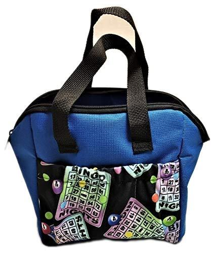 SII Tragetasche für Bingo #1 Dauber, 6 Taschen, Neonblau