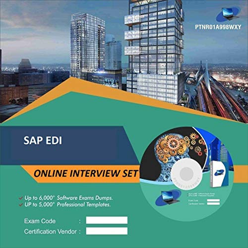 SAP EDI Complete Unique Collection All Latest Inteview Questions & Answers Video Learning Set (DVD)