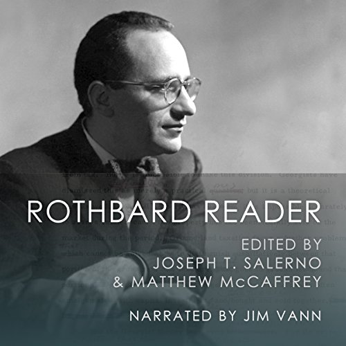 The Rothbard Reader audiobook cover art