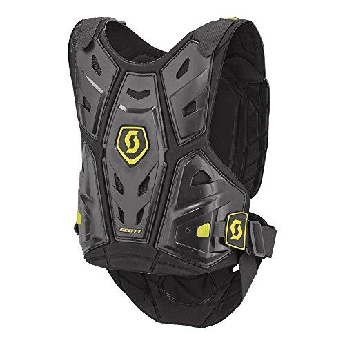 Scott Commander Body Armor Jr Kinder MX Motocross Brust- / Rückenpanzer schwarz/grün: Größe: S