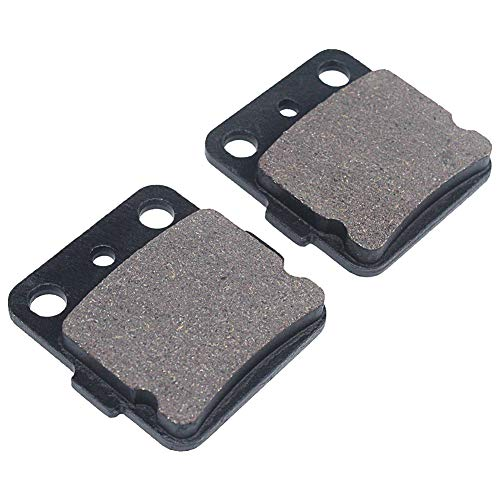 Cyleto Front and Rear Brake Pads for Honda TRX300EX TRX 300EX 1993-2009 / TRX400EX TRX 400EX 1999-2009