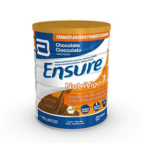 Ensure NutriVigor Integratore in Polvere con Multivitamine e Minerali | Confezione da 850gr | Gusto Cioccolato