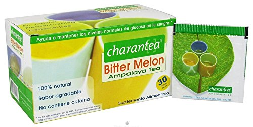 Charantea Tee, Bittermelone, Diabetes, 30 Beutel (2 Stück)