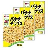 なとり ジョリーパックバナナチップス 80g ×3袋