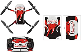 Rantow Shell Decoration Sticker Controller Decals Set for DJI Mavic Mini Drone Waterproof DIY Skin Decoration Drone Body S...