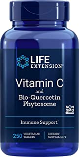 Life Extension Vitamin C with Bio-Quercetin Phytosome, 250 Tablets