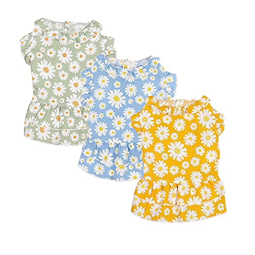 Sebaoyu 3 Pack Small Dog Dresses-Dog Dress-Dog Dresses for Small Medium Large Dogs Girls-Cat Dresses for Cats Only-Dog Tutu Dress-Puppy Dresses-Birthday Dog Clothes
