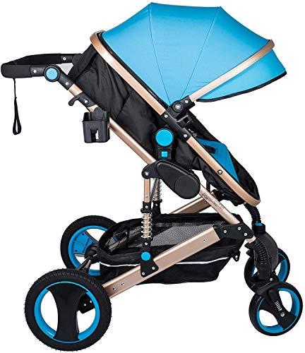 VEVOR Rollstuhl Kinderwagen Anti Shock Folding Leichter Kinderwagen Multi Funktionen Standard Kombikinderwagen
