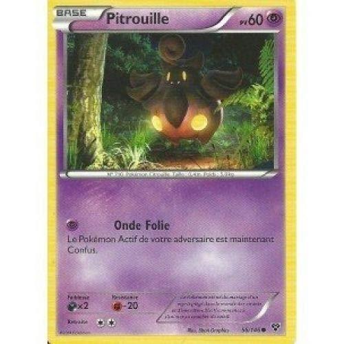 Carte Pokémon 56/146 PITROUILLE Série XY NEUVE FR - Jeu de cartes à jouer et à collectionner