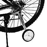 AYNEFY Rotelle Bici Bambino,1 Coppia Stabilizzatori per Bambini di Allenamento per Bicicle...