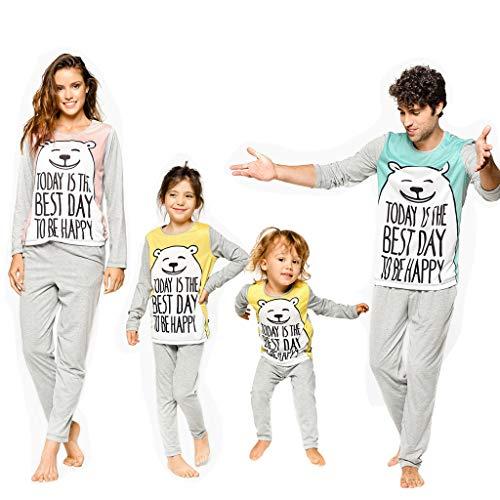 Weihnachten Mit Der Familie Schlafanzug Set Familie Kleidung Erwachsene Kinder Schlafanzug Baby Strampler Santa Nachtwäsche Familie Passende Kleidung Familie Schlafanzug Set