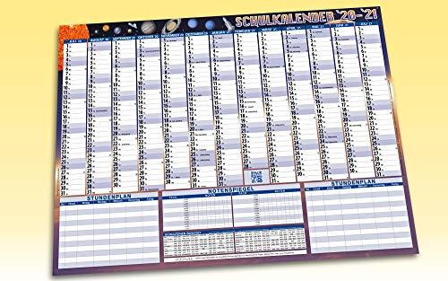 STEINPAPIER Schulkalender Schulplaner 2020/2021 DIN A1