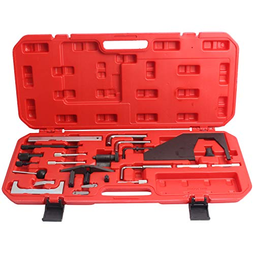 CCLIFE Motor Nockenwellen Kurbelwellen Arretierung Einstellwerkzeug Steuerzeiten Werkzeug 1.4, 1.6, 1.8, 1.9 D TD...