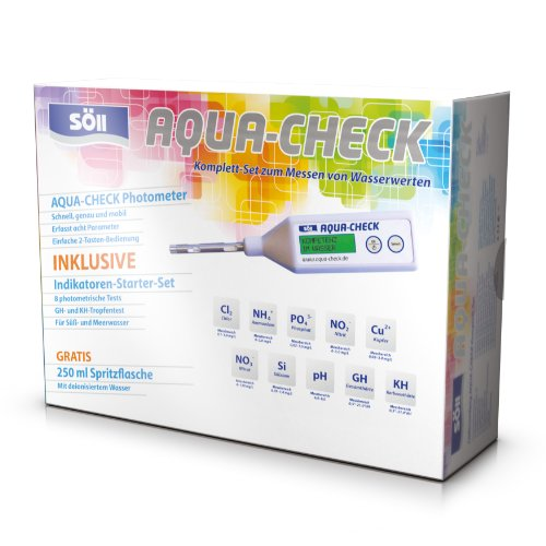 Söll 15337 Messgerät Aqua-Check inklusiv Indikatoren-Starterset