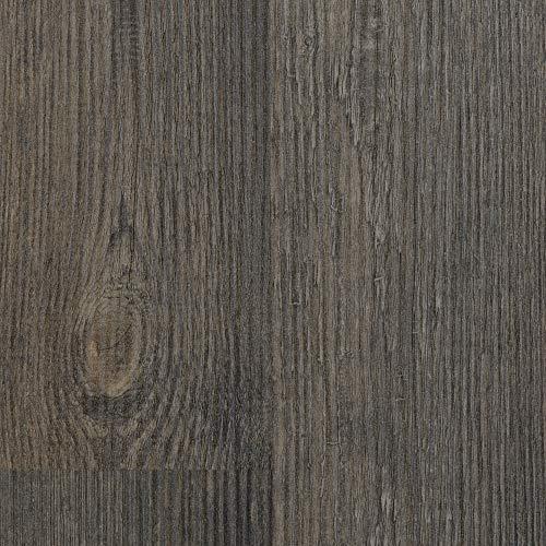 BODENMEISTER BM75001 Klick Laminat-Boden Holzoptik, Dielenoptik Pinie 2-Stab, Dunkel-Braun, 1380 x 193 x 8 mm