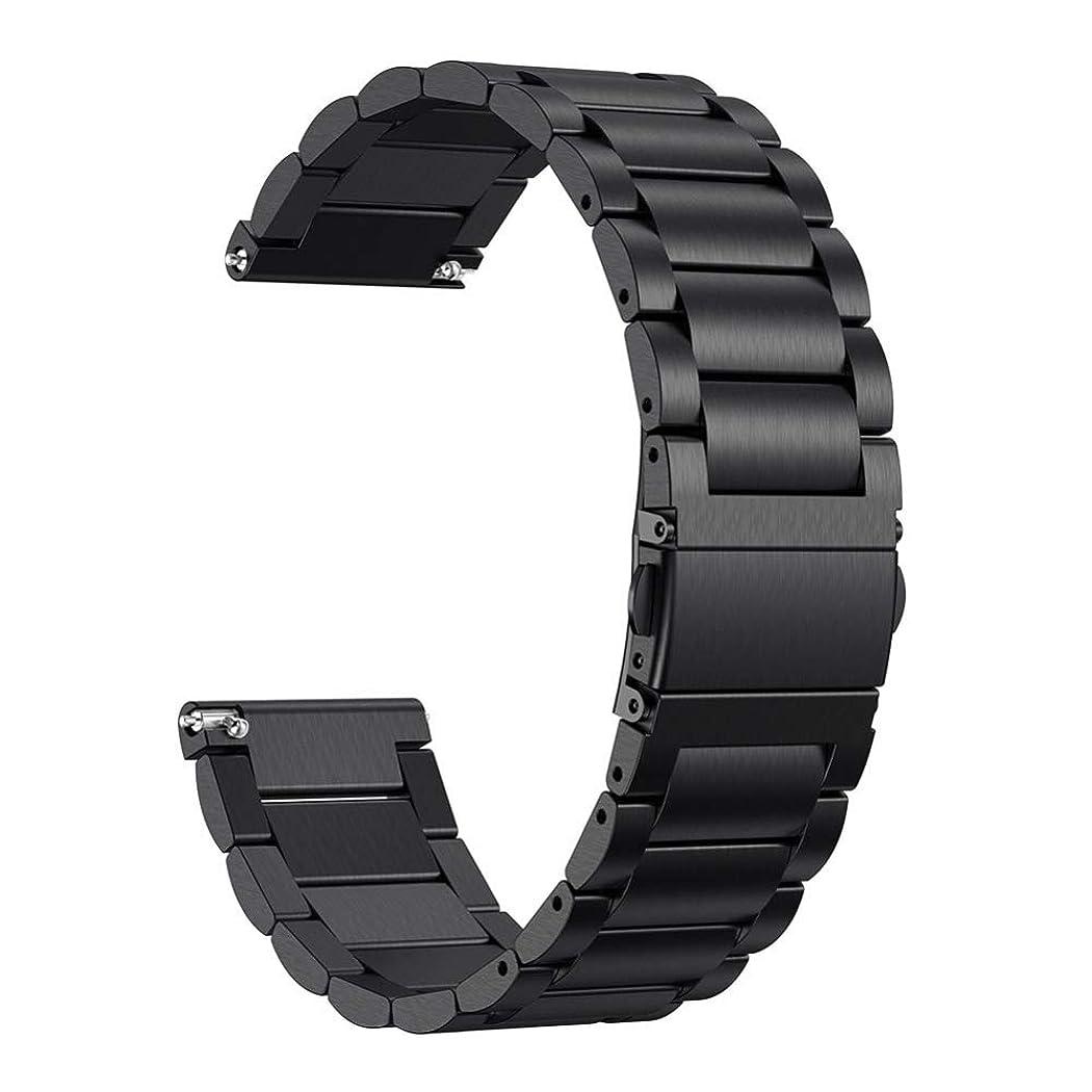 るおもてなし予想外Esolom for Fitbit Versa 金属ベルト バンド ステンレス スマートウォッチ ビジネス 交換ベルト 時計バンド ストラップ 調整 スポーツ向けの交換ハンド