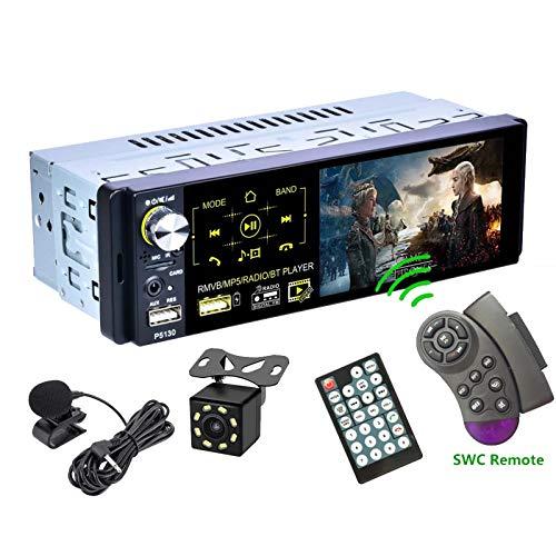 Universal Auto Multimedia 1din Bluetooth / MP5 / Am/FM/RDS Radio Audio Stereo DVD Player, Coche 1 DIN Touch Pantalla Trasera Autoradio