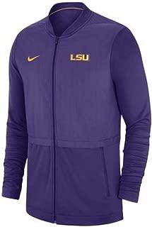 Nike Men's LSU Tigers Elite Hybrid Rivalry Jacket Size Medium Purple