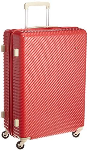 [ハント] スーツケース マイン ストッパー付き 65cm 75L 05747 無料預入受託サイズ 65 cm アネモネレッド