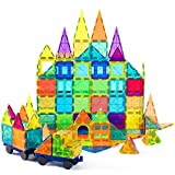 Product Image of the cossy Kids Magnet Toys Magnetic Tiles, 120 PCs Magnetic Building Blocks,...