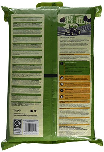 Burgess Excel Feeding Hay with Dandelion and Marigold 1kg (Pack of 3) 2