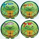 Teenage Ninja Mutant Turtle Beanie Ballz 5' Complete Set of 4