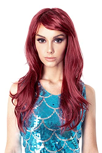haz tu compra pelucas largas mujer rojas en internet