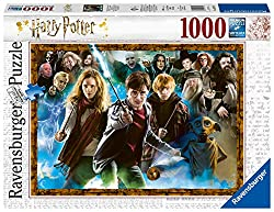 Harry Potter Jigsaw Puzzle, image of Harry Potter, Hermione, Ron, and the rest of the cast