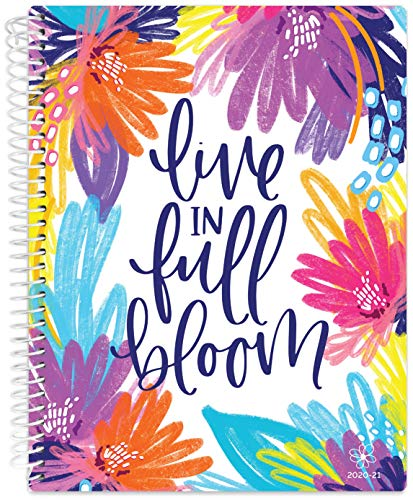 """Daisy by bloom daily planners 2020-2021 Academic Year Student Day Planner (July 2020 - July 2021) - Elementary Through Middle School Calendar Agenda Book - 7"""" x 9' - Live in Full Bloom"""