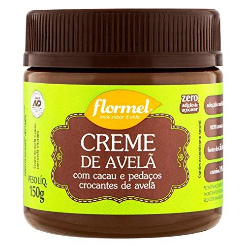 Creme de Avelã Crocante Zero Flormel 150g